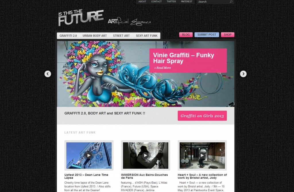 website design - Is this the future