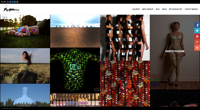 web site design artist
